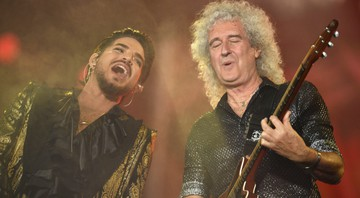 None - Adam Lambert e Brian May (Foto: Anthony Behar/Sipa via AP Images)