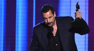 None - Adam Sandler no Independent Spirit Awards (Foto:AP Photo/Chris Pizzello)
