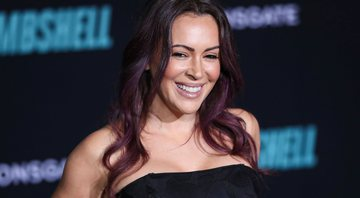 None - Alyssa Milano (Foto: Xavier Collin / Image Press Agency / Sipa USA via AP Images)