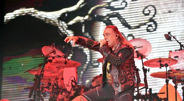 None - Andi Deris, vocalista do Helloween (Foto:CTK/AP Images)