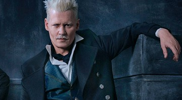 None - Johnny Depp interpreta o vilão do filme Animais Fantásticos: Os Crimes de Grindelwald (Foto: Warner Bros)