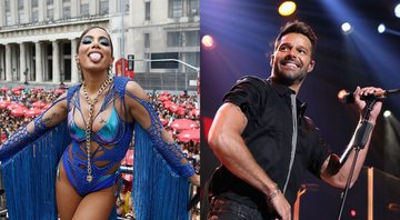 None - Anitta / Ricky Martin (foto: Getty Images/ Wagner Meier / Mike Windle)