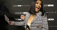 None - Cardi B no Fashion Nova, em Los Angeles (Foto: Faye Sadou/MediaPunch /IPX/ AP)