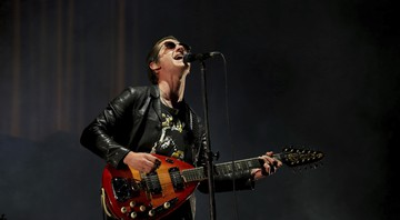 None - Alex Turner, vocalista do Arctic Monkeys (Foto: Valente Rosas / Agência El Universal / AP)