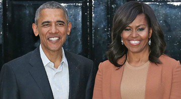 None - Barack e Michelle Obama (Foto: Chris Radburn/PA Wire)