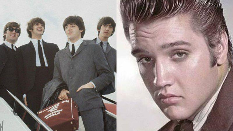 Rolling Stone · Beatles não souberam o que dizer a Elvis Presley ...