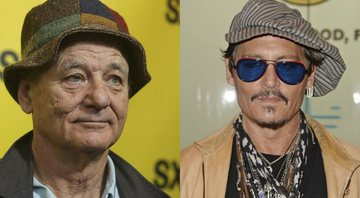 None - Bill Murray (Foto: Jack Plunkett/ Invision / AP) e Johnny Depp (Foto: mpi04/MediaPunch/IPx)