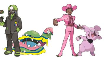 None - Billie Eilish e Lil Nas X com Pokémon (Fotos: Ray Pratiwi)