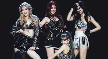 None - Blackpink (Foto: Rich Fury / Equipe / Getty Images)