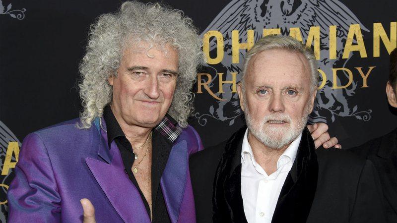 Bohemian Rhapsody foi difícil, mas deu nova vida ao Queen, dizem Brian May e Roger Taylor