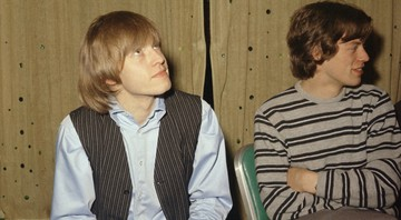 None - Brian Jones e Mick Jagger (Foto: AP)