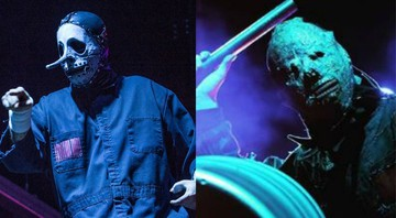 None - Chris Fehn, ex-percussionista do Slipknot e Tortilla Man (Foto 1:Amy Harris/Invision/AP | Foto 2: Instagram/Reprodução)