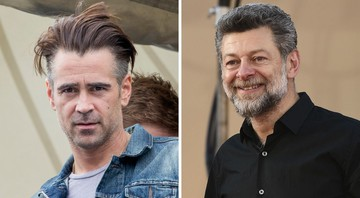 None - Colin Farrel e Andy Serkis (Fotos: Patrick van Katwijk/picture-alliance/dpa/AP Images e Jordan Strauss/Invision/AP)