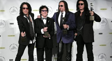 None - Paul Stanley, Peter Criss, Ace Frehley, Gene Simmons (Foto: Andy Kropa/AP)