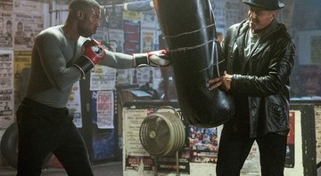 None - Michael B. Jordan e Sylvester Stallone em cena de Creed II (Foto: Barry Wetcher / Metro Goldwyn Mayer Pictures / Warner Bros. Pictures)