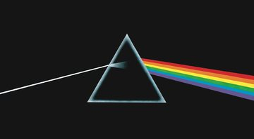 None - Capa do disco Dark Side of The Moon, do Pink Floyd