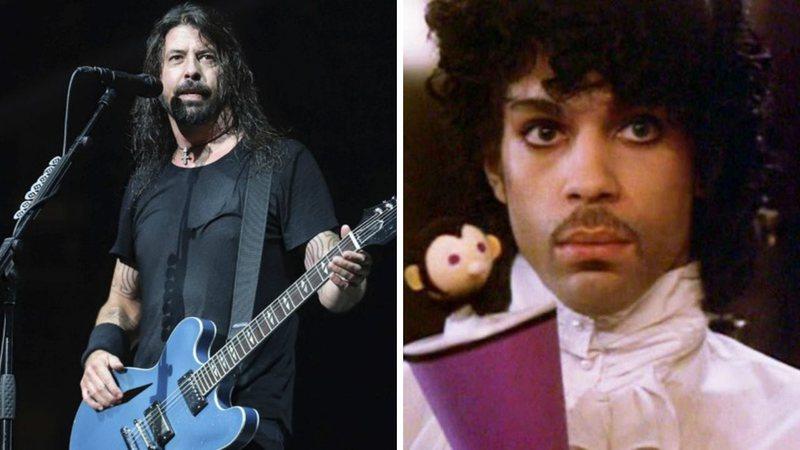Dave Grohl relata encontro mágico com Prince: 'Ele simplesmente se materializou'