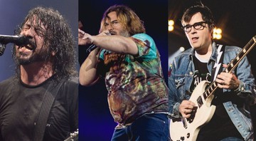 None - Dave Grohl, Jack Black e Weezer (Foto1 :Rudi Keuntje / Geisler-Fotopress / Alliance / DPA/ AP Images/ Foto 2: Diego Padilha/ I Hate Flash/ Foto 3: Schlaepfer/ I Hate Flash)