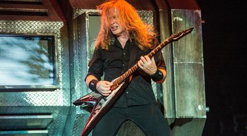 None - Dave Mustaine, do Megadeth (Foto: Amy Harris / Invision / AP)