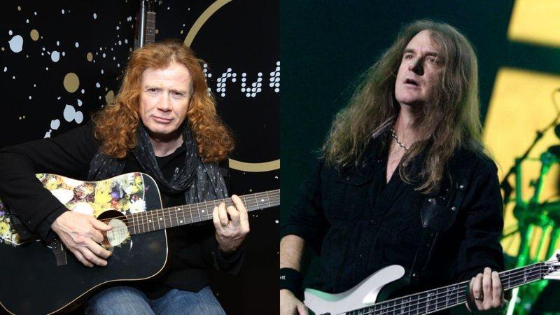 'Impossível trabalharmos juntos,' diz Dave Mustaine sobre saída de David Ellefson do Megadeth