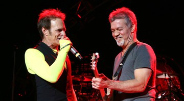 None - David Lee Roth e Eddie Van Halen (Foto: Greg Allen/AP)