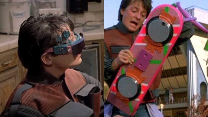 Algumas das tecnologias apresentadas em De Volta Para o Futuro 2