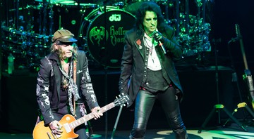None - Johnny Depp e Alice Cooper (Foto:Sipa/AP Images)