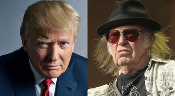 None - Donald Trump (Foto: Mark Seliger) e Neil Young (Foto: Isabel Infantes/ AP)