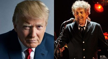 None - Donald Trump (Foto: Mark Seliger) e Bob Dylan (foto: Chris Pizzello/AP)