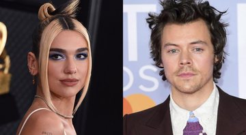 None - Dua Lipa (Foto: Jordan Strauss / Invision / AP) | Harry Styles (foto: AP Images)