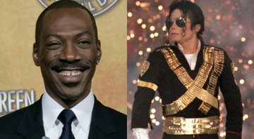 None - Eddie Murphy no Oscar de 2012 (Foto: AP Images) e Michael Jackson (Foto: Getty Images)