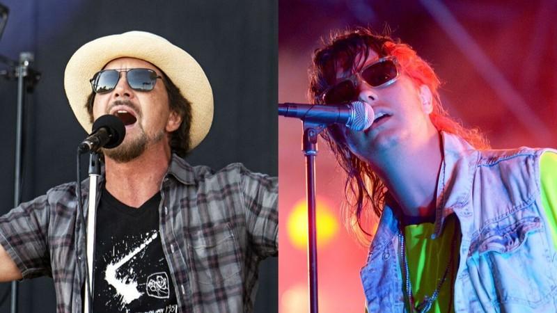 Eddie Vedder toca com Strokes e relembra Chris Cornell em homenagem a Daniel Johnston; assista