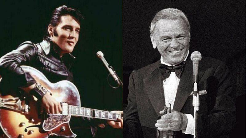 Elvis Presley e Frank Sinatra eram amigos?