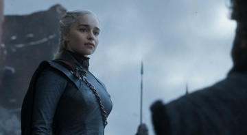 None - Emilia Clarke, em ação no último episódio de Game of Thrones (Foto: HBO)
