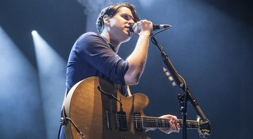 None - Ezra Koenig, vocalista do Vampire Weekend (Foto: Robb D. Cohen / Invision / AP)