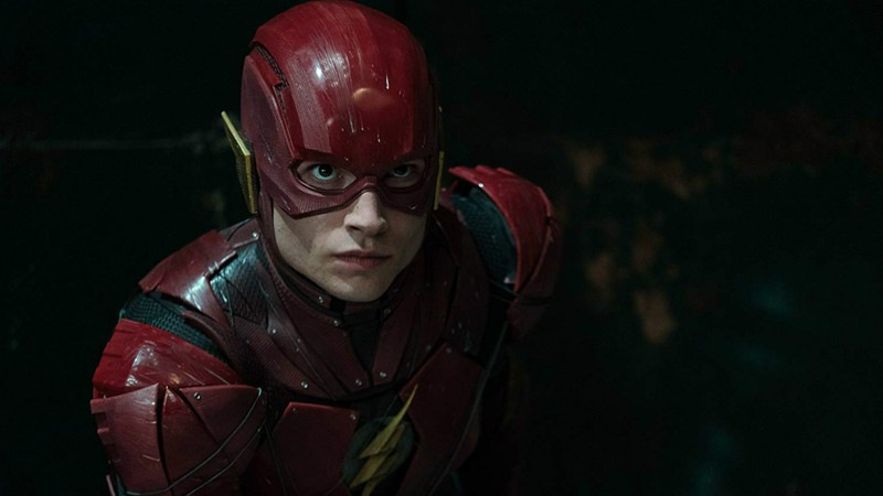 Ezra Miller; Barry Allen; Liga da Justiça; The Flash
