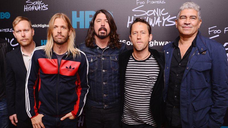 Foo Fighters em 2014 (Foto: Stephen Lovekin/Getty Images)