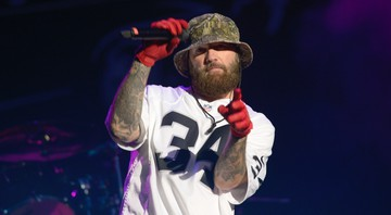 None - Fred Durst, vocalista do Limp Bizkit (Foto:Sipa via AP Images)