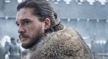 None - Kit Harington, em Game of Thrones (Foto: Divulgação / HBO)