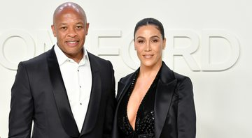 None - Dr. Dre e Nicole Young (foto: Getty Images/ Amy Sussman)