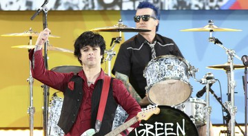 None - Billie Joe Armstrong e Tre Cool do Green Day (Foto:Greg Allen/Invision/AP)