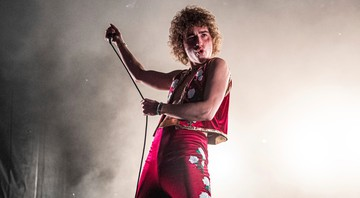 None - Josh Kiszka, vocalista do Greta Van Fleet (Foto: Amy Harris /  Invision / AP)