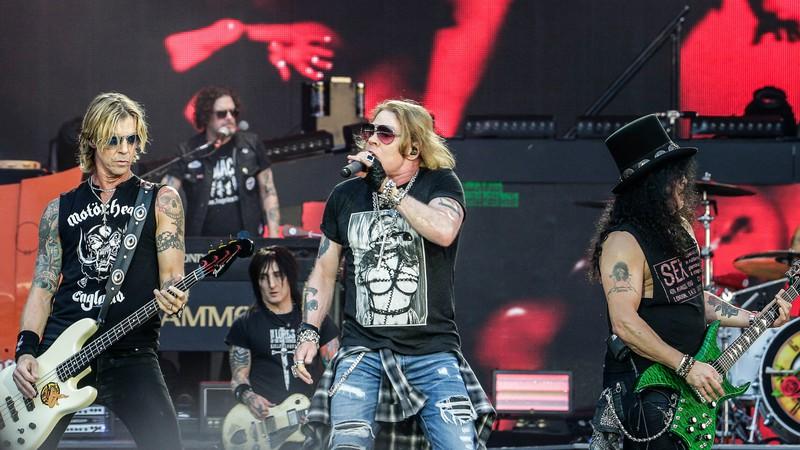 Guns N' Roses estreia série de vídeos com filmagens raras de shows; assista
