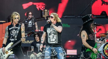 None - Guns N' Roses em 2018 (Foto: Abaca Press/AP)