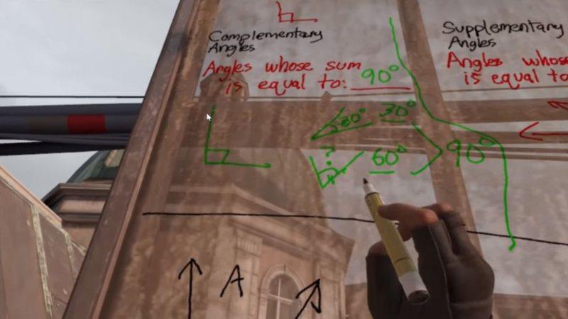 Professor usa o jogo Half-Life: Alyx para dar aulas de matemática aos alunos em quarentena
