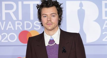 None - Harry Styles no Brit Awards 2020 (Foto: Ian West/AP Images)