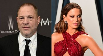 None - Harvey Weinstein (Foto: Chris Pizzello / Invisio / AP) e Kate Beckinsale (Foto: AP)