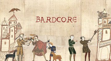 None - Montagem com a tapeçaria de Bayeux (Historic Tale Construction Kit/Larissa Catharine)