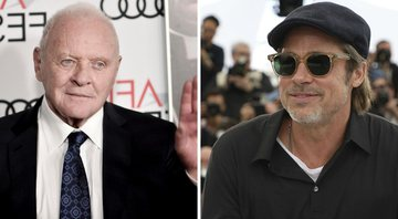 None - Anthony Hopkins e Brad Pitt (Foto: Richard Shotwell/Invision/AP e Vianney Le Caer / Invision / AP)