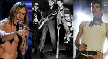None - Iggy Pop, The Clash e Jane's Addiction (Foto 1: Jason DeCrow/AP | Foto 2: AP | Foto 3: Jack Plunkett/AP)